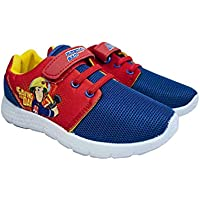 Fireman Sam Boy's Casual Trainer Shoes
