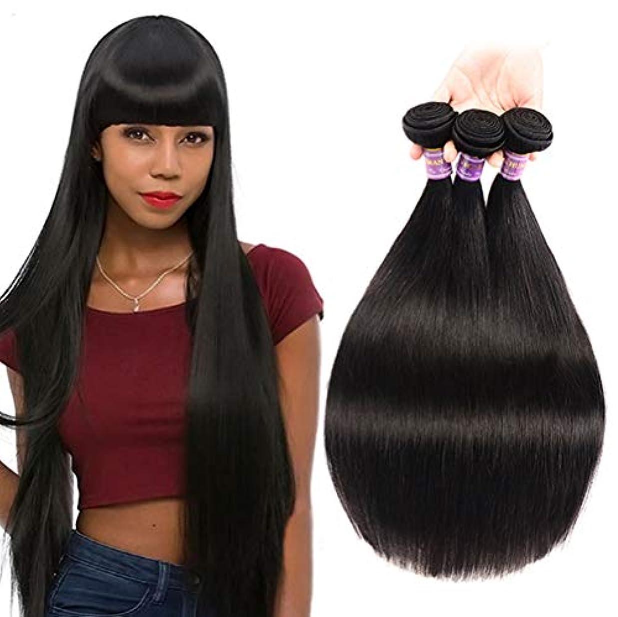 ブロックする物語硬化する女性の髪を編む150%密度ストレート人間の髪の毛バージンバンドル8 aストレート織り髪人間のバンドル100%未処理の絹のようなストレート人間の髪の毛