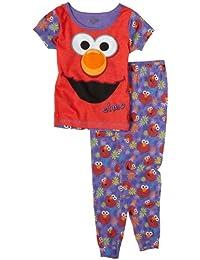 (セサミストリート) Sesame Street 小さい女の子用パジャマセット