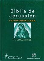 Biblia de Jerusalen Latinoamericana en Letra Grande