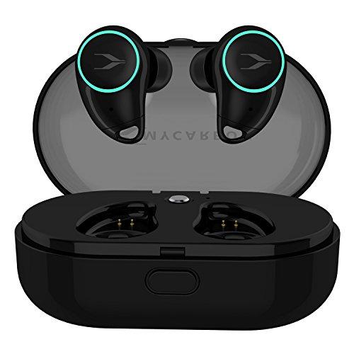 【音量調節と前後曲送り】MYCARBON Bluetooth イヤホン ワイヤレス【Bluetooth5.0 両耳通話 1000mah充電ケ...