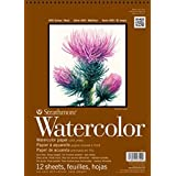 """Strathmore (298-112) 400 Series Watercolor Pad, Cold Press, 12""""x12"""", 12 Sheets"""