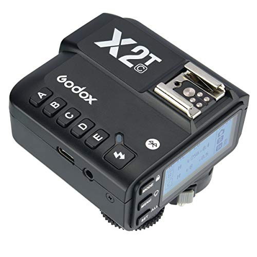 GODOX X2C-T送信機 TTLワイヤレストリガー TTL Wireless Flash Trigger スマホAPPで操作可能 キャノンカメラ対応 対応機種Canon EOSカメラ E-TTL IIオートフラッシュ