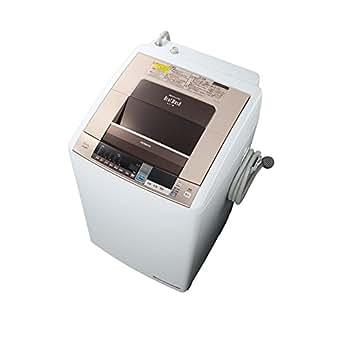 日立 8.0kg 洗濯乾燥機 シャンパンHITACHI ビートウォッシュ BW-D8TV-N