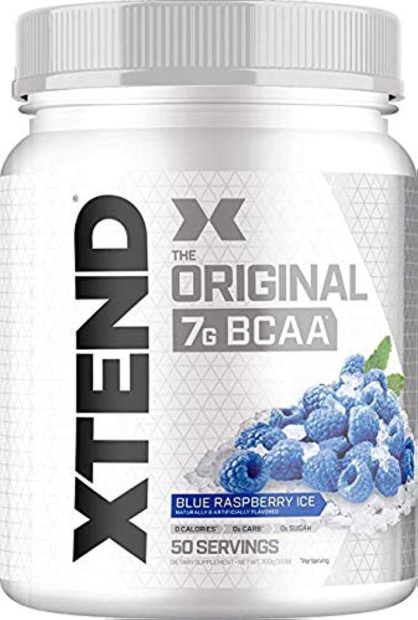 突撃アパート清めるScivation Xtend BCAA 50杯分 (ブルーラズベリー) Blue Raspberry 【海外直送品】