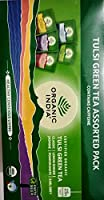 Organic India Tulsi Green Tea Assorted Pack - Vegetarian - India - 25 Tea Bags - Assorted pack - Classic, Lemon Ginger, Jasmine, Pomegranate, Earl Grey