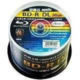 HI-DISC BD-R HDBDRDL260RP50 (DL/50枚/6倍速)