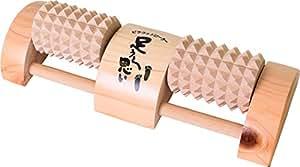 木曽工芸 木製 足ツボ マッサージャー カエデ ひのき 足うら思い (S)