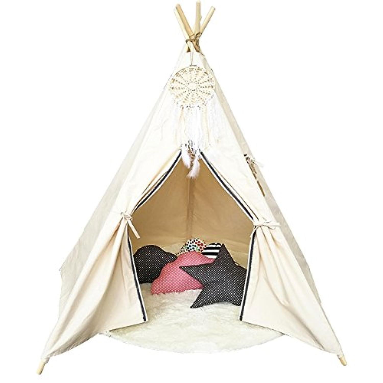 テント子供用 キッズテント 屋内テント 折り畳み式 秘密基地 知育玩具 子供遊ぶハウス 子供部屋装飾 簡単組み立て