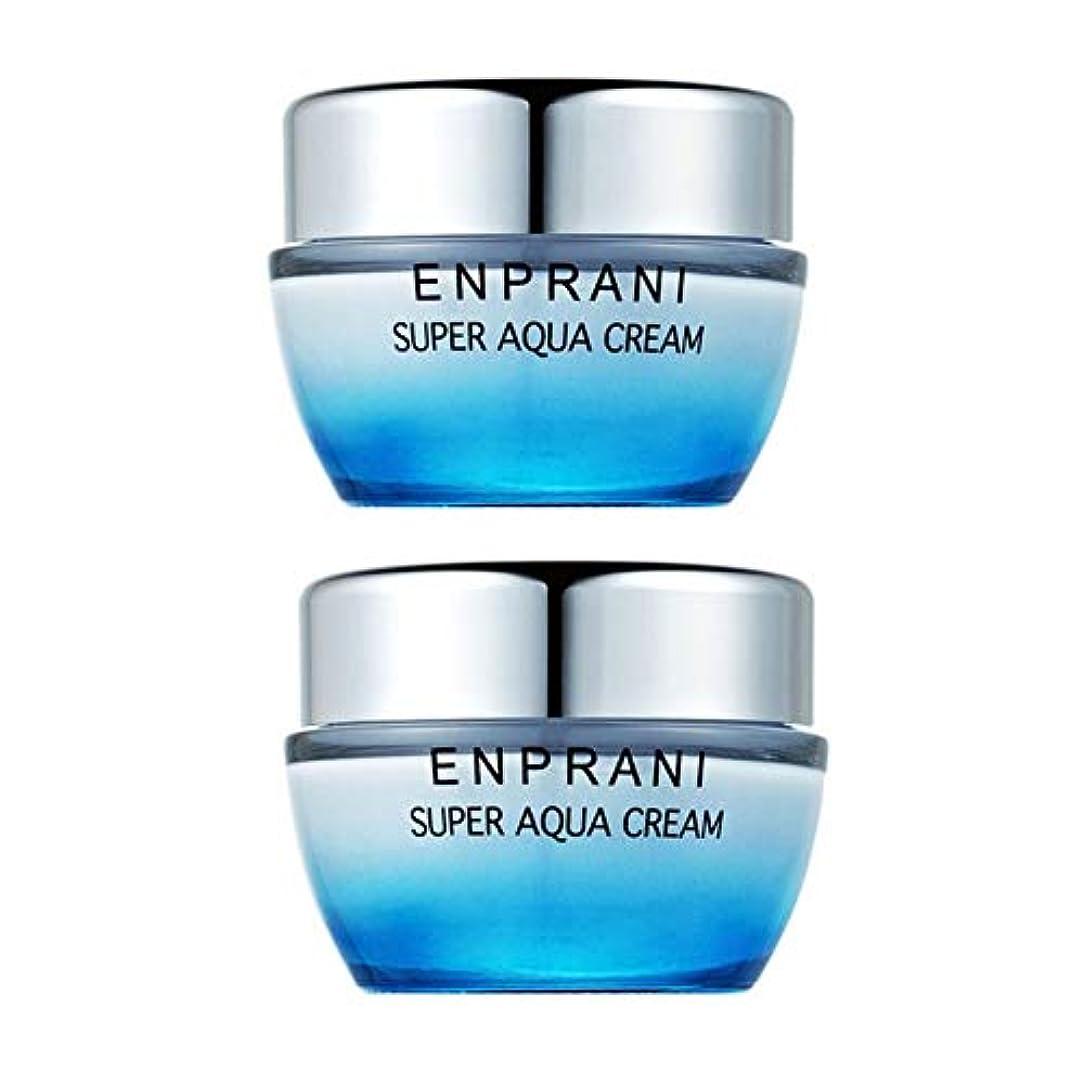 まともな死にかけている注文エンプラニスーパーアクアクリーム50ml x 2本セット、Enprani Super Aqua Cream 50ml x 2ea Set [並行輸入品]