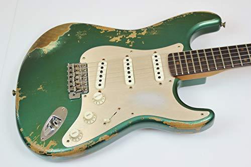Fender Custom Shop 2017 LTD 59 STRATOCASTER HEAVY RELIC Aged Sherwood Green Metallic