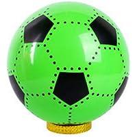 YChoice 可愛い赤ちゃんのおもちゃ ギフト 子供の遊び用サッカーボール ベビーカートゥーン ハンドルボール 空気注入式ソーンボールトイ