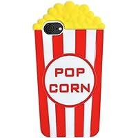 PLATA iPhone7 / iPhone8 ケース ポップコーン popcorn シリコン ケース カバー iPhone アイフォン 7 8 【 レッド 赤 あか red 】 IP7-4030RD