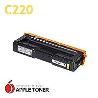【APPLE TONER】互換トナー リコー C220(イエロー)× 1 対応機種:IPSiO SP C220 / IPSiO SP C220L / IPSiO SP C221SF / IPSiO SP 221SFL / IPSiO SP C230L / IPSiO SP C230SFL