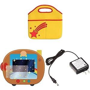 アンパンマン すくすく知育パッド & 専用液晶保護フィルム & ACアダプターセット