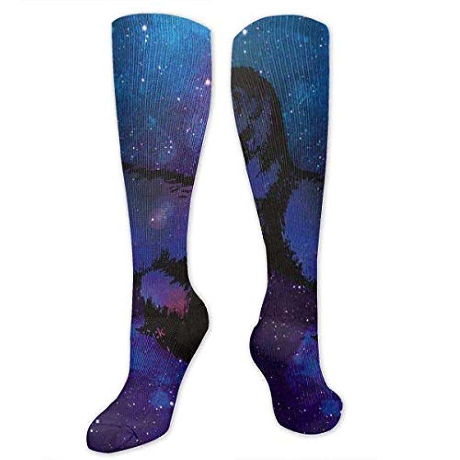 堤防バット辛な靴下,ストッキング,野生のジョーカー,実際,秋の本質,冬必須,サマーウェア&RBXAA Animal Galaxy Ferret Socks Women's Winter Cotton Long Tube Socks Knee...
