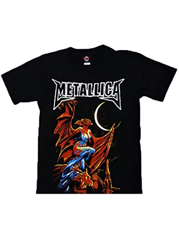 できる経過増幅器【ノーブランド品】バンドTシャツ ロックTシャツ Metallica メタリカ
