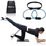 Forcefree+ Booty Bands System - Butt Workout Resistance Belt,Tone Firm and Build Lift Shape Glute and Lower Body Muscles - Fitness Exercise Training Tube