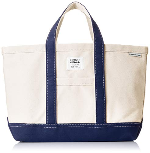 [パロットキャンバス] Canvas Small Tote Bag 16SS-04C Navy US F (Free サイズ)