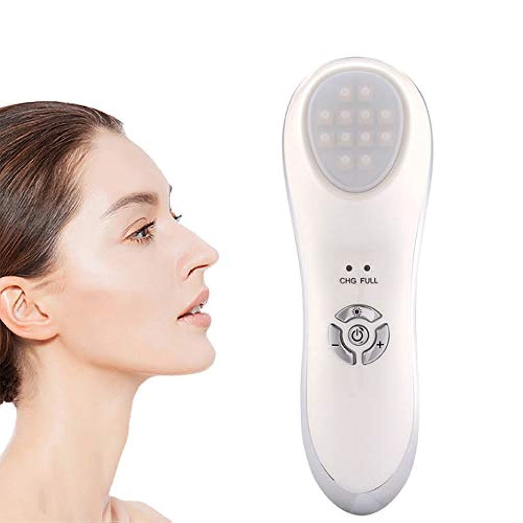 失礼なだめる船乗り顔の美容マッサージ、微振動LEDライト美容機器、顔のリフトは皮膚再生を引き締め