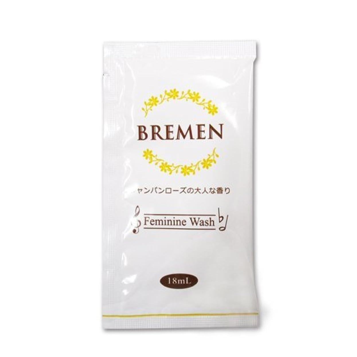 ブレーメン フェミニンウォッシュ パウチタイプ 18ml シャンパンローズの大人な香り×500枚
