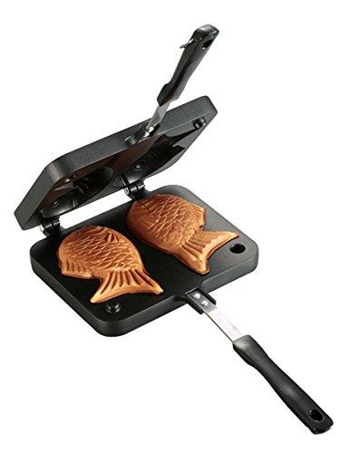 キャプテンスタッグ バーベキュー BBQ用 たい焼き器 キャスト アルミUG-3008