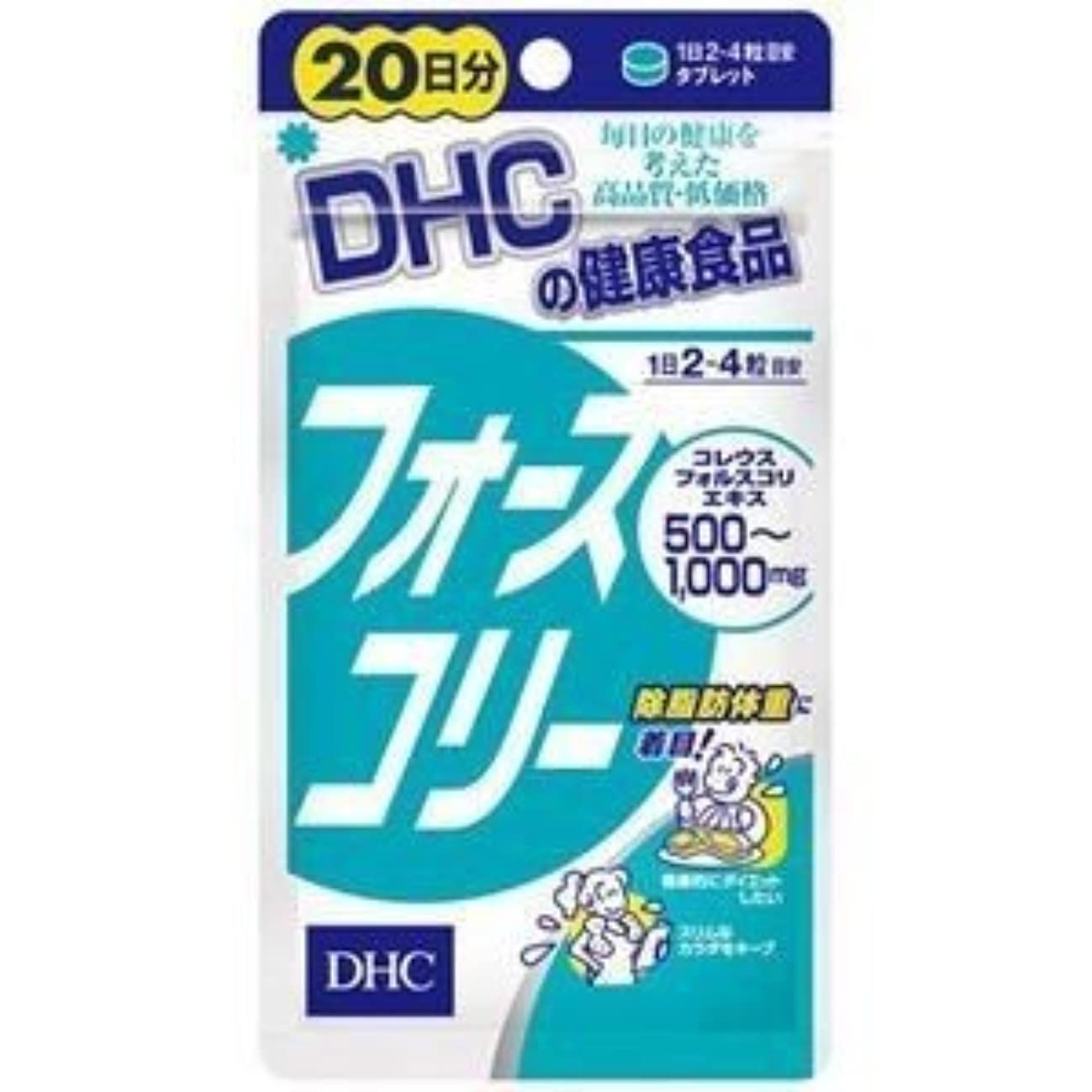 同化請負業者失望させるDHC フォースコリー 20日分 80粒