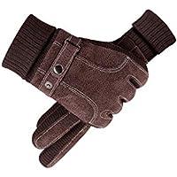 手袋、プラスベルベットの冬の人工豚のアウトドアライディング,B
