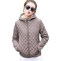 Leorealko Women Winter Warm Hooded Coat Fashion Thick Outwear Jackets Tops