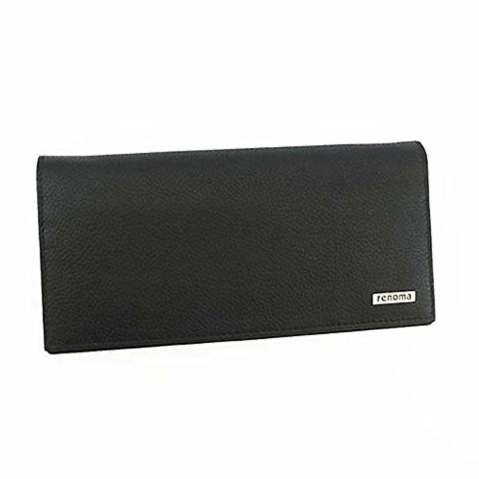 ジェームズダイソンために電池【renoma】レノマ メンズ 長札 長財布 サイフ [REM20/BLACK]