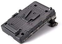 Tilta TA-BTP-V-G 15mm LWS ロッドアダプター Vマウント バッテリープレート BMPCC 4Kカメラ用