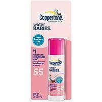 【並行輸入品】Coppertone WaterBABIES Stick SPF 55 .6-Ounce (Pack of 3)