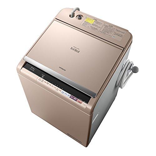 日立 タテ型洗濯乾燥機 ビートウォッシュ 12kg シャンパン BW-DX120B N
