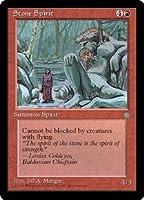 英語版 アイス・エイジ Ice Age ICE 石の精 Stone Spirit マジック・ザ・ギャザリング mtg