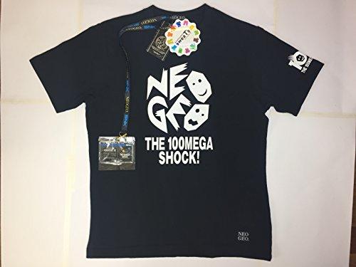 ネオジオ しまむら コラボTシャツ 黒色 LLサイズ カードホルダー付き タグ付き NEOGEO