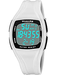 7b93955e41 Amazon.co.jp: クロノグラフ と アラーム - レディース腕時計: 腕時計