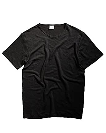 (Ruderals) Hemp 100% T-shirts (XS, Black)