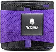 New Tecnomed 2 Extreme Sport Belt Waist Shapewear Faja Columbia Reductora Corset