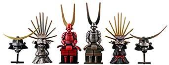 ミニチュア キューブ miniQ 戦国甲冑コレクション PVC製 塗装済み 完成品 8個入 BOX