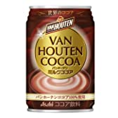 アサヒバンホーテンミルクココア缶280g1箱24本
