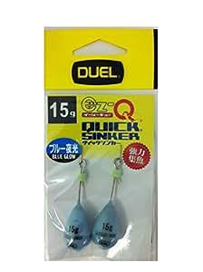 デュエル(DUEL) エギ用シンカー: EZ-Q クイックシンカー 10g BL: ブルー夜光