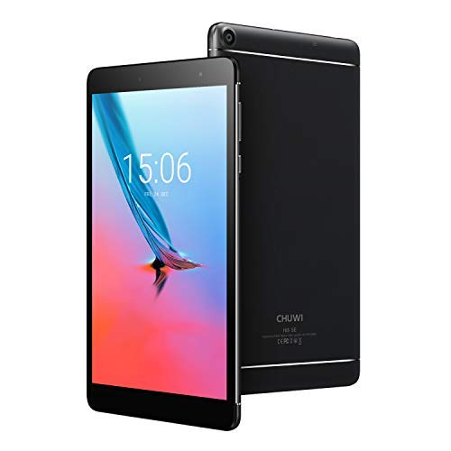 CHUWI Hi8 SE タブレットPC 8インチ Android タブレット クアッドコア 2G RAM/32G ROM 1920*1200解像度 Android8.1 ビデオ鑑賞用 デュアルWi-Fi タブレットパソコン ブラック
