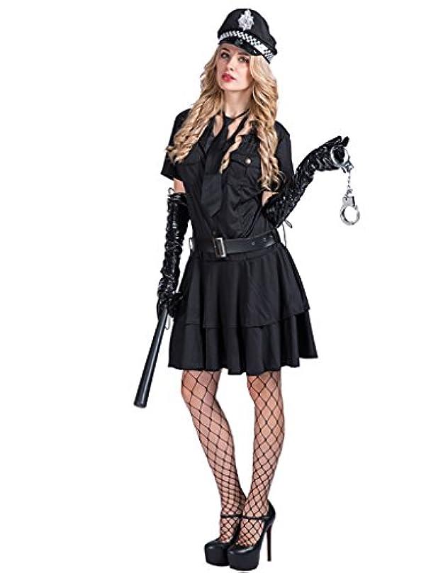 人間タールインストラクターEraSpooky レディース セクシー ポリス 警察 コスプレ セット ハロウィン 仮装