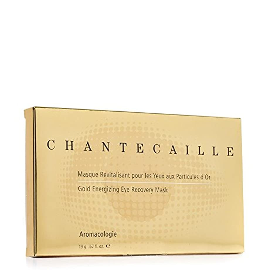 ネズミ交通宇宙船Chantecaille Gold Energising Eye Recovery Mask - シャンテカイユ金通電アイ?リカバリーマスク [並行輸入品]