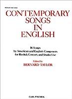 O3819 - Contemporary Songs in English, Medium High Voice