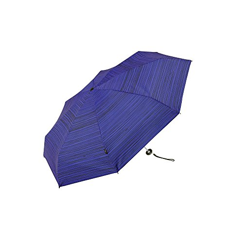 (クニルプス) Knirps X1 ハードケース付き コンパクト 折りたたみ傘 メンズ レディース 04.StripesBlue【811-617-3】