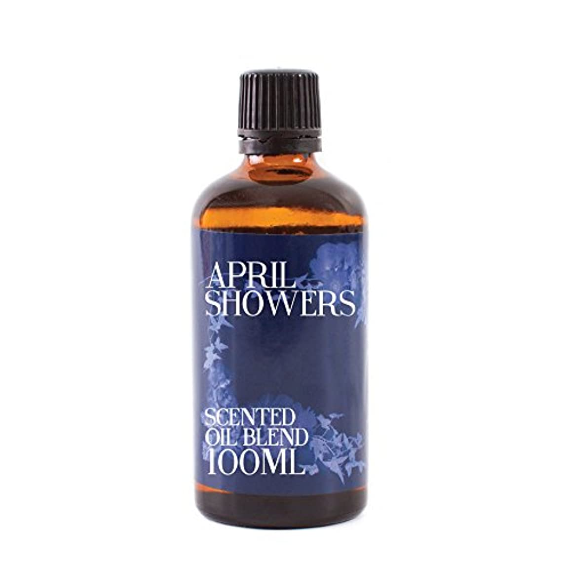滞在辛な給料Mystic Moments | April Showers - Scented Oil Blend - 100ml