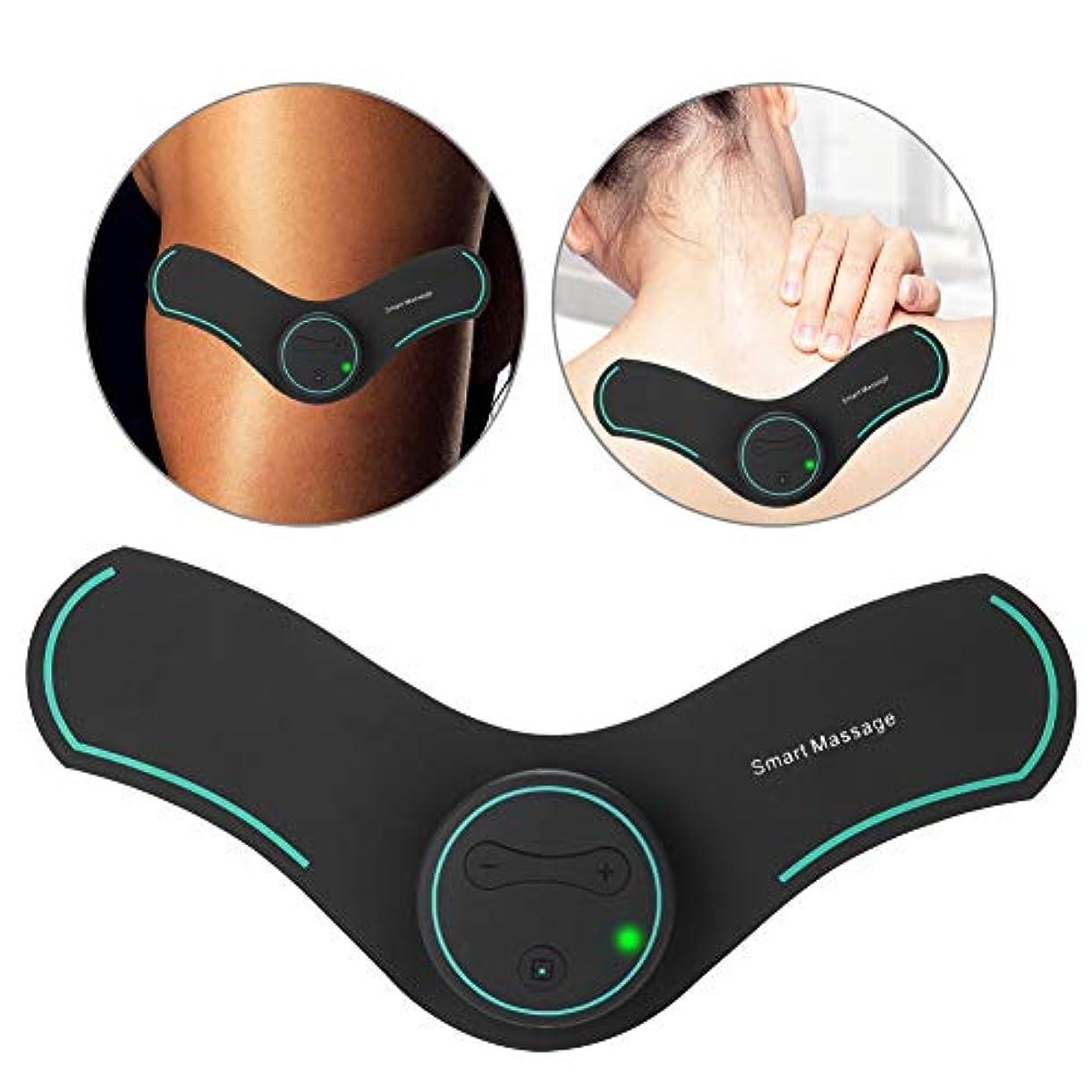 パイントハミングバード分注する首と背中のマッサージ指圧マッサージ、10ユニット充電式ヘルプ装置首と肩の痛みを和らげるための多機能深部組織頸部マッサージ
