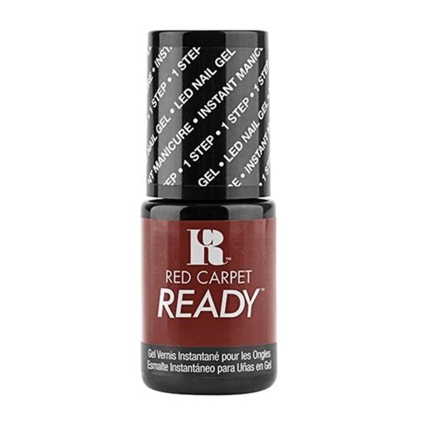 消化荒れ地ボンドRed Carpet Manicure - One Step LED Gel Polish - Runway Strut - 0.17oz / 5ml
