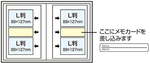 ナカバヤシ 背丸ブック式 ポケットアルバム ブロッサムシーズン ブルー BPL-200-2-B